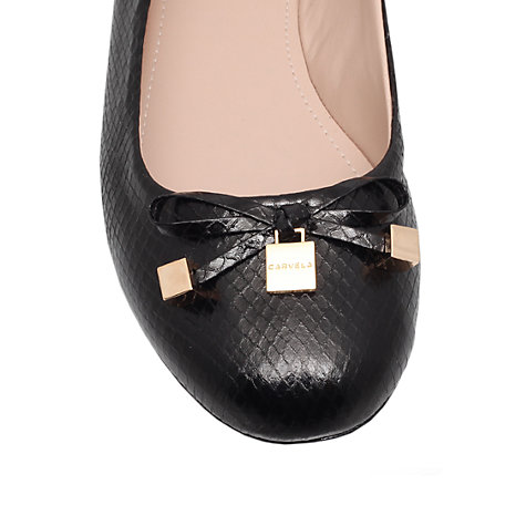 Buy Carvela Lamp Ballet Pumps Online at johnlewis.com