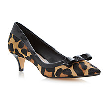 Buy Dune Allma Leather Kitten Heeled Court Shoes Online at johnlewis.com