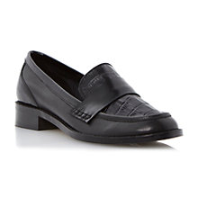 Buy Dune Liger Leather Loafer Shoes Online at johnlewis.com