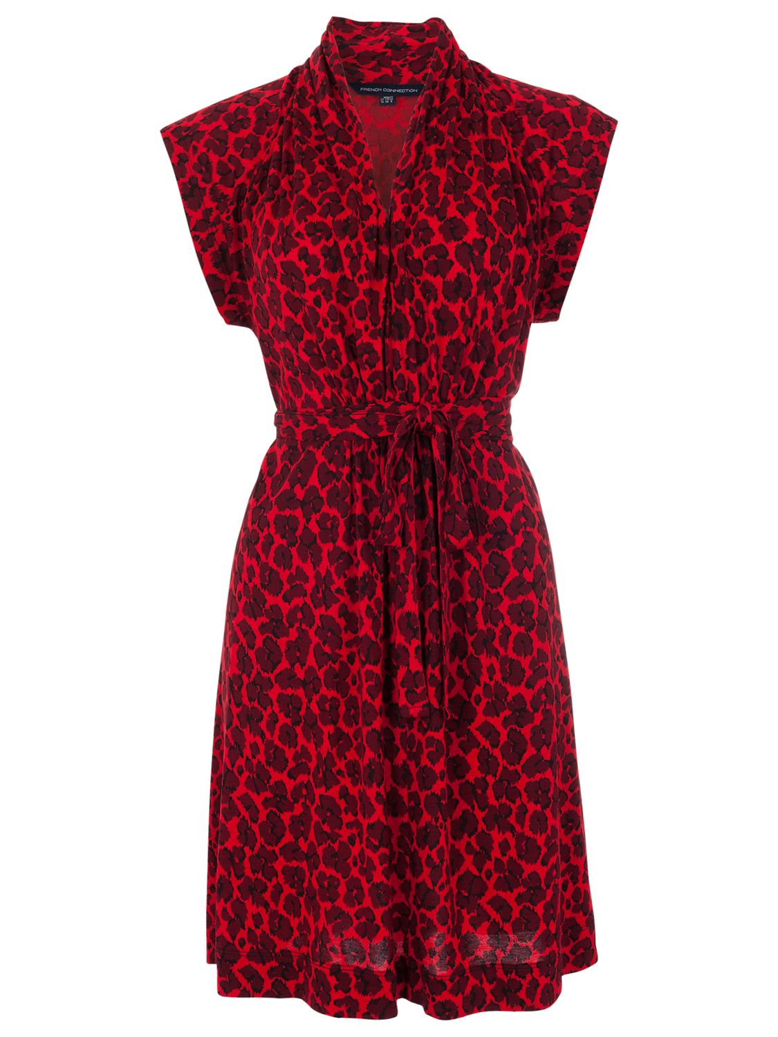 french connection anna jersey tie waist dress red, french, connection, anna, jersey, tie, waist, dress, red, french connection, 16|10|12|14|8|6, women, womens dresses, 1523385