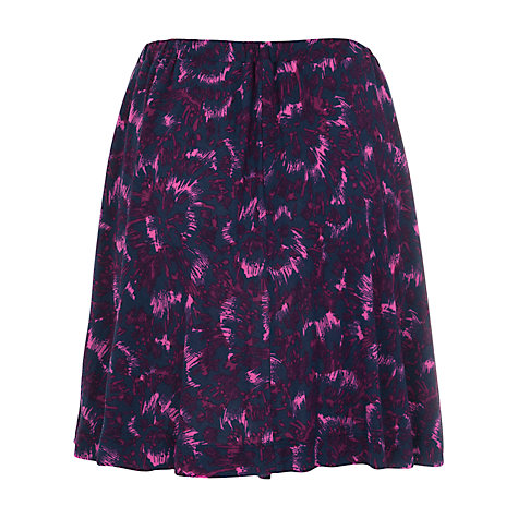 Buy French Connection Rhodeo Flower Skater Skirt, Multi Online at johnlewis.com