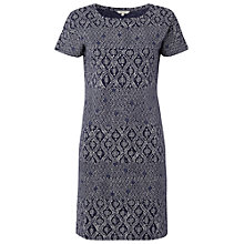 Buy White Stuff Deloris Shift Dress, Navy Online at johnlewis.com
