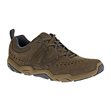 Buy Merrell Skylark Leather Trainers, Coffee Online at johnlewis.com