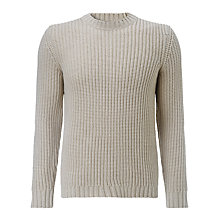 Buy JOHN LEWIS & Co. Made In Italy Lambswool Fisherman Jumper Online at johnlewis.com