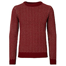Buy JOHN LEWIS & Co. Made In Italy Vintage Birdseye Crew Neck Jumper Online at johnlewis.com