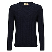 Buy JOHN LEWIS & Co. Made In Italy Lambswool Cable Jumper Online at johnlewis.com