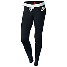 Buy Nike Women's Rally Slim Fit Training Trousers, Black Online at johnlewis.com