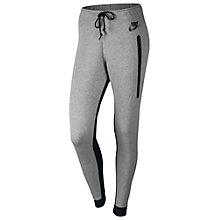 Buy Nike Women's Tech Fleece Training Trousers, Grey Online at johnlewis.com