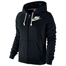 Buy Nike Women's Rally Futura Full Zip Hoodie Online at johnlewis.com
