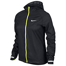 Buy Nike Women's Impossibly Light Running Jacket, Black Online at johnlewis.com