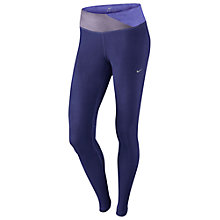Buy Nike Epic Contrast Waistband Running Tights Online at johnlewis.com