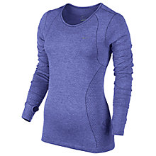 Buy Nike Dri-FIT Knit Long Sleeve Top Online at johnlewis.com