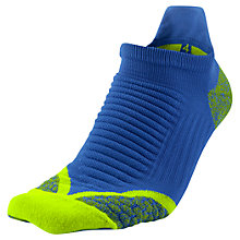 Buy Nike Women's Elite Run Cushioned No- Show Tab Running Socks Online at johnlewis.com