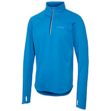 Buy Asics Winter Half-Zip Top, Blue Online at johnlewis.com