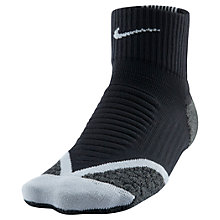 Buy Nike Women's Elite Cushion Quarter Running Socks Online at johnlewis.com