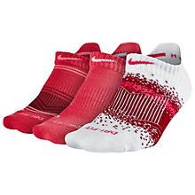 Buy Nike Dri-Fit Graphic Socks, Pack of 3 Online at johnlewis.com
