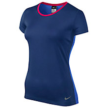 Buy Nike Women's Hypercool Short Sleeve T-Shirt Online at johnlewis.com