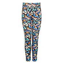 Buy John Lewis Girl Butterfly Print Leggings, Multi Online at johnlewis.com