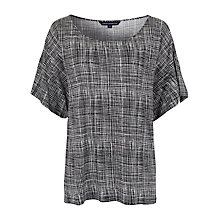 Buy French Connection Textured Check T-Shirt Online at johnlewis.com