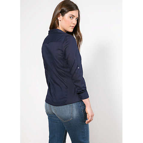 Buy Violeta By Mango Ribbed Blouse Online at johnlewis.com