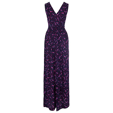 Buy French Connection Rhodeo Flower Print Maxi Dress, Multi Online at johnlewis.com