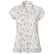 Buy White Stuff Ditsy Everglade Shirt, White Online at johnlewis.com