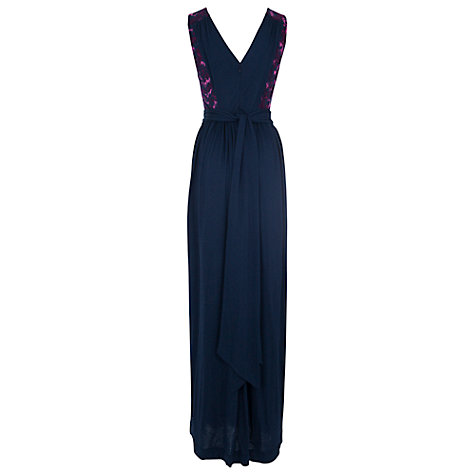 Buy French Connection Rhodeo Flower Maxi Dress, Multi Online at johnlewis.com
