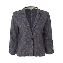 Buy White Stuff Lotta Print Jacket, Dark Moonlight Blue Online at johnlewis.com