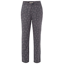Buy White Stuff Lotta Print Trousers, Dark Moonlight Blue Online at johnlewis.com