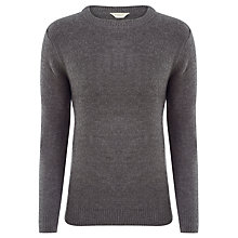 Buy Selected Homme Fleece Jumper, Grey Online at johnlewis.com