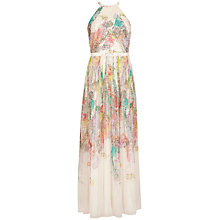 Buy Ted Baker Pearpa Wispy Meadow Maxi Dress, Light Pink Online at johnlewis.com