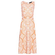 Buy Sugarhill Boutique Liza Dress, Coral/White Online at johnlewis.com