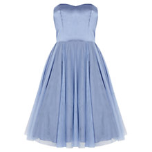 Buy Coast Darling Dress, Pale Blue Online at johnlewis.com