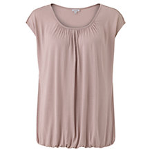 Buy Jigsaw Ladderstitch Trim Detail Top, Dusky Pink Online at johnlewis.com