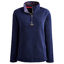Buy Joules Bonita Fleece, French Navy Online at johnlewis.com