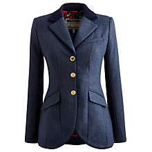 Buy Joules Parade Tweed Jacket, Navy Online at johnlewis.com