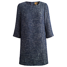 Buy Joules Averil Tweed Look Dress, French Navy Online at johnlewis.com