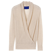 Buy Winser Cashmere X-Over Cardigan, Champagne Marl Online at johnlewis.com
