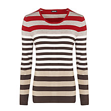 Buy Gerry Weber Mix Stripe Jumper, Multi Online at johnlewis.com