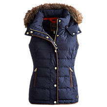 Buy Joules Eksdale Gilet, Marine Navy Online at johnlewis.com