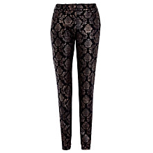 Buy Gerry Weber Baroque Straight Jean, Brown Online at johnlewis.com
