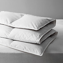 Buy John Lewis Supreme White Goose Down Duvet, All Seasons 10.5 Tog Online at johnlewis.com