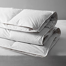 Buy John Lewis Supreme White Goose Down Duvet, All Seasons 13.5 Tog (9+4.5 Tog) Online at johnlewis.com