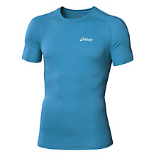 Buy Asics Essentials Running T-Shirt, Blue Online at johnlewis.com