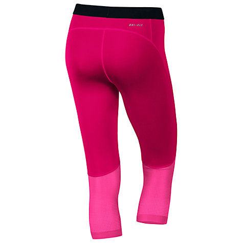 Buy Nike Pro Hypercool Flash Capri Running Tights Online at johnlewis.com
