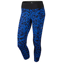 Buy Nike Dri-FIT Epic Lux Print Cropped Running Tights Online at johnlewis.com