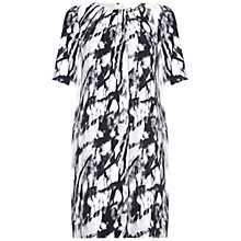 Buy Damsel in a dress Hatfield Print Dress, Grey Online at johnlewis.com
