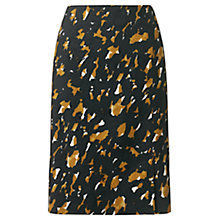 Buy Jigsaw Painted Abstract Print Skirt, Multi Online at johnlewis.com
