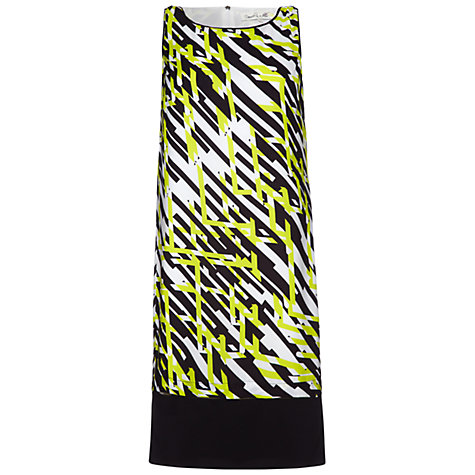 Buy Damsel in a dress Apsley Print Dress, Green Online at johnlewis.com