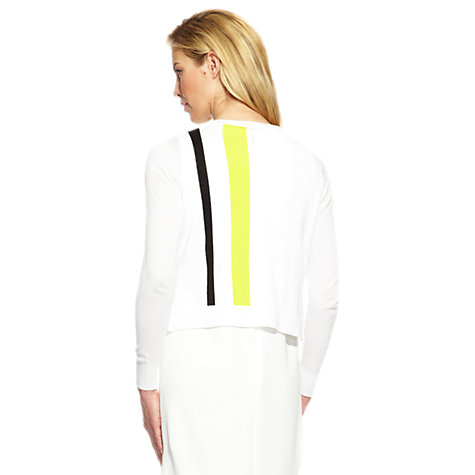 Buy Damsel in a dress Calcot Cardigan, White Online at johnlewis.com